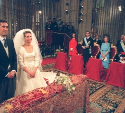 Wedding of HRH the Infanta Elena with Jaime de Marichalar