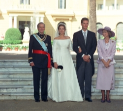 Wedding of HRH Infanta Cristina with Iñaki Urdangarin