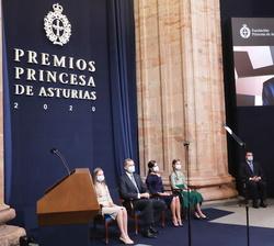 Proyección del video de agradecimiento de Dani Rodrik, Premio Princesa de Asturias de Ciencias Sociales