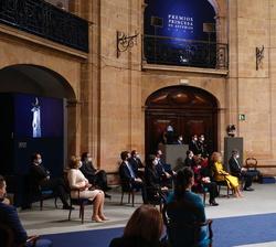 Su Majestad el Rey en los Premios Princesa de Asturias 2020